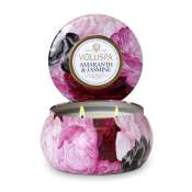 Voluspa Amaranth & Jasmine 2 Wick Candle Tin