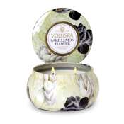 Voluspa Sake Lemon Flower 2 Wick Candle Tin