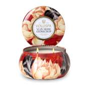 Voluspa Yuzu Rose Stonecrop 2 Wick Candle Tin