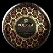 Voluspa Black Figue & Chypre 2 Wick Candle Tin