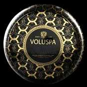 Voluspa Lichen & Vetiver 2 Wick Candle Tin