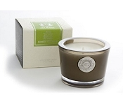 AQUIESSE Bamboo Teakwood 45 Hr SM Soy Candle-No Lid