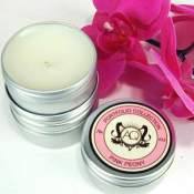 AQUIESSE Pink Peony Travel Candle