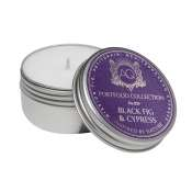 Aquiesse Black Fig & Cypress Soy 20 Hr Travel Tin Candle