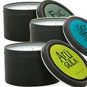 Archipelago Candles Arugula Travel Tin