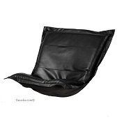 Howard Elliott puff chair replacement cover with cushion-Avanti Black