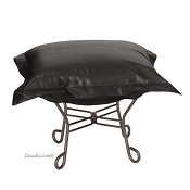 Howard Elliott puff ottoman-Avanti Black