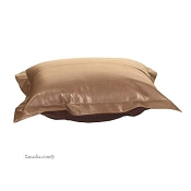 puff ottoman replacement cover with cushion-Avanti Bronze