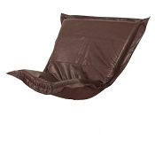 Howard Elliott puff chair replacement cover with cushion-Avanti Pecan