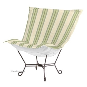 Chicago Textile Puff Chair-Baja Willow-Patio