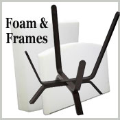 Chicago Textile Puff Frames & Foam inserts