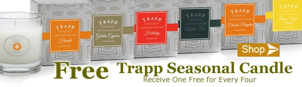 Free Trapp Seasonal Candle