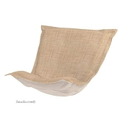Howard Elliott puff chair replacement cover with cushion-Coco Stone