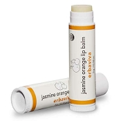 Erbaviva Lip Balm, Jasmine Orange. USDA Organic