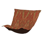 CTC Puff Chair replacement cover with cushion-Ikat Earth