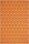Jaipur Rugs Estrellas in Red Orange