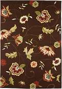 Jaipur Rugs Jardin in Cocoa Brown