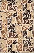 Jaipur Rugs Tiki in Light Gold