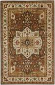 Jaipur Rugs Chaumont in Indian Brown-Cloud White