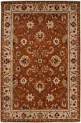 Jaipur Rugs Strasbourg in Orange Rust-Antique White