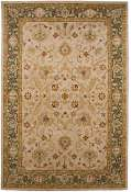 Jaipur Rugs Giverny in Dark Ivory-Sea Green