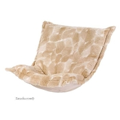 CTC puff chair replacement cover with cushion-Luscious Natural
