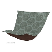 CTC Puff Chair replacement cover with cushion-Medallion Teal