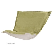 CTC puff chair replacement cover with cushion-Microsuede Willow