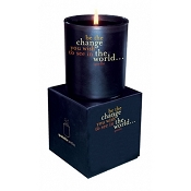 <i>Be The Change</i> Quotable Candle- Wild Currant scent