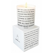 <i>Irish Blessing</i> Quotable Candle- Wild Currant scent