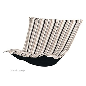 CTC Puff Chair replacement cover with cushion-Ribbon Noir