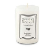 Archipelago Excursion 2 x 3 pillar candle-Savannah