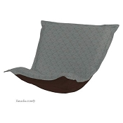 CTC Puff Chair replacement cover with cushion-Shadow Teal