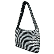 Socorro Black Shoulder Handbag by Escama Studio