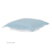 CTC puff ottoman replacement cover with cushion-Starboard Breeze-Patio
