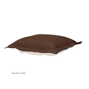 CTC puff ottoman Repl. cover with cushion-Starboard Chocolate-Patio