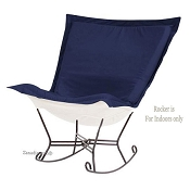 Chicago Textile Puff Rocker-Starboard Ocean-Indoor