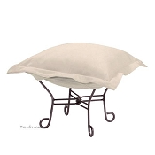 Howard Elliott Puff Ottoman-Sterling Sand