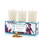 Seda France Set of Three Votives-Japanese Quince