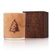 Thymes Frasier Fir Wood Wick Candle-Wood Box