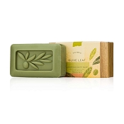 Thymes Olive Leaf Triple-Milled Soap Bar