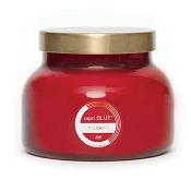 Capri Blue Volcano No 6 Red Jar Candle