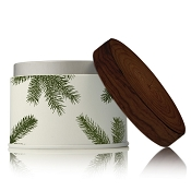 Thymes Frasier Fir Candle Tin -Pine needle