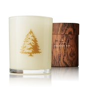 Thymes Frasier Fir White Candle-Wood Wick