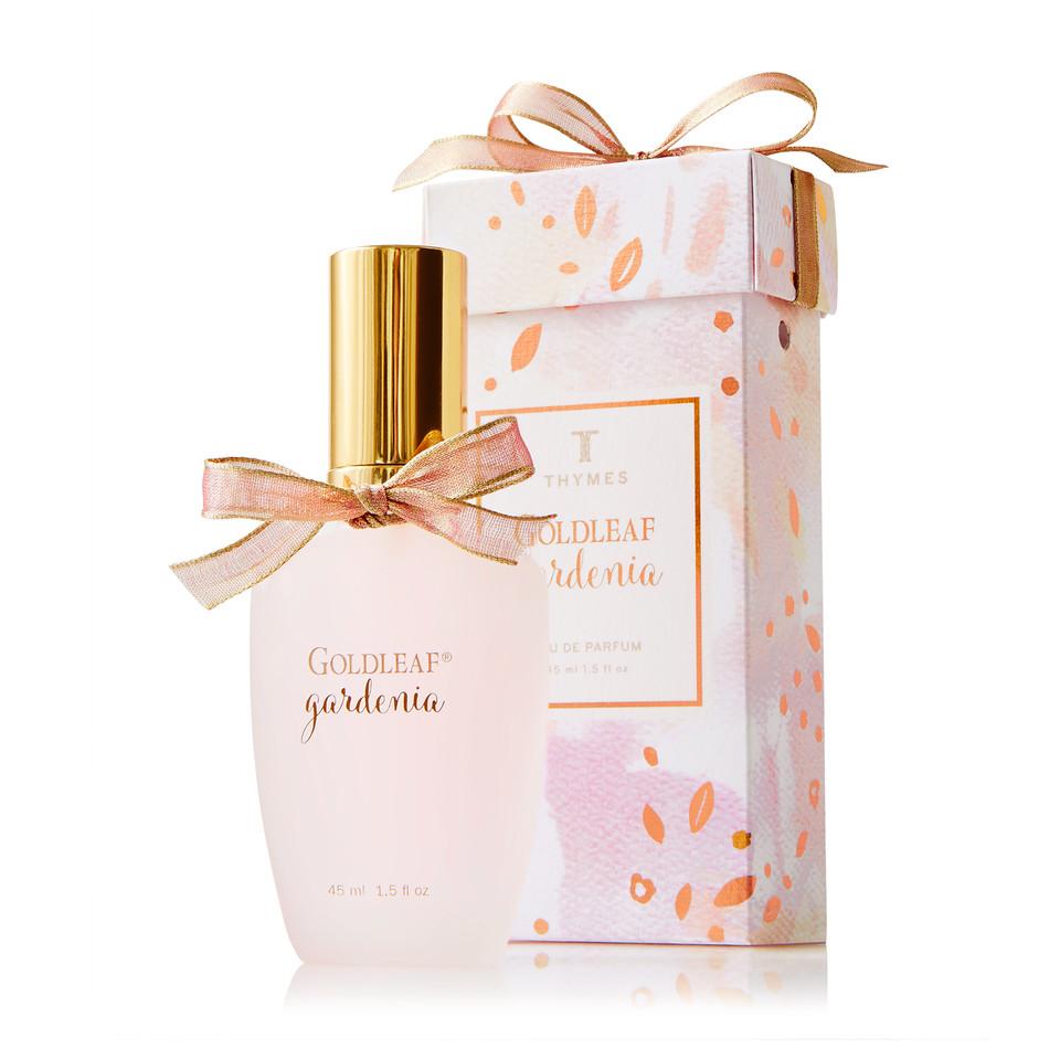 thymes goldleaf gardenia eau de parfum. Black Bedroom Furniture Sets. Home Design Ideas