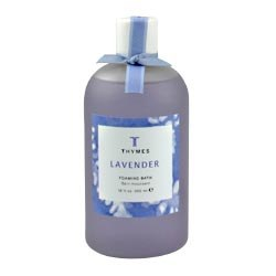 Thymes Lavender Liquid Foaming Bath (round bottle)