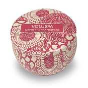 Voluspa Travel Candle Tin - Capri Fig Frangipani