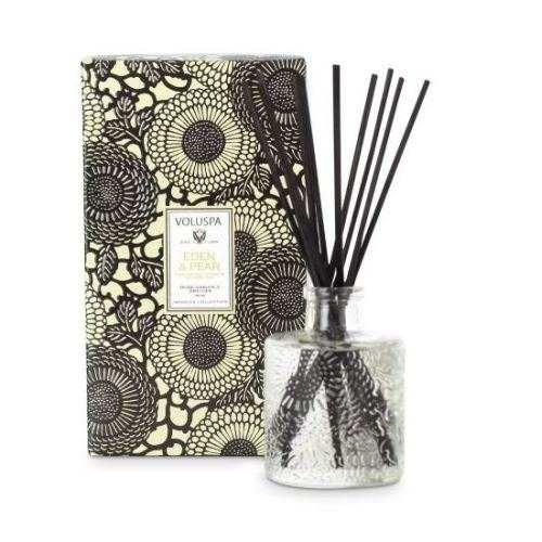 Eden Perfume Refill: Voluspa Eden & Pear Mini Reed Diffuser