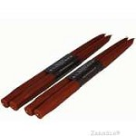 Creative Candles Taper Pair-Rust 7/8X12