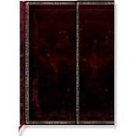 PaperBlanks Black Moroccan Lined Pages Journal -MIDI